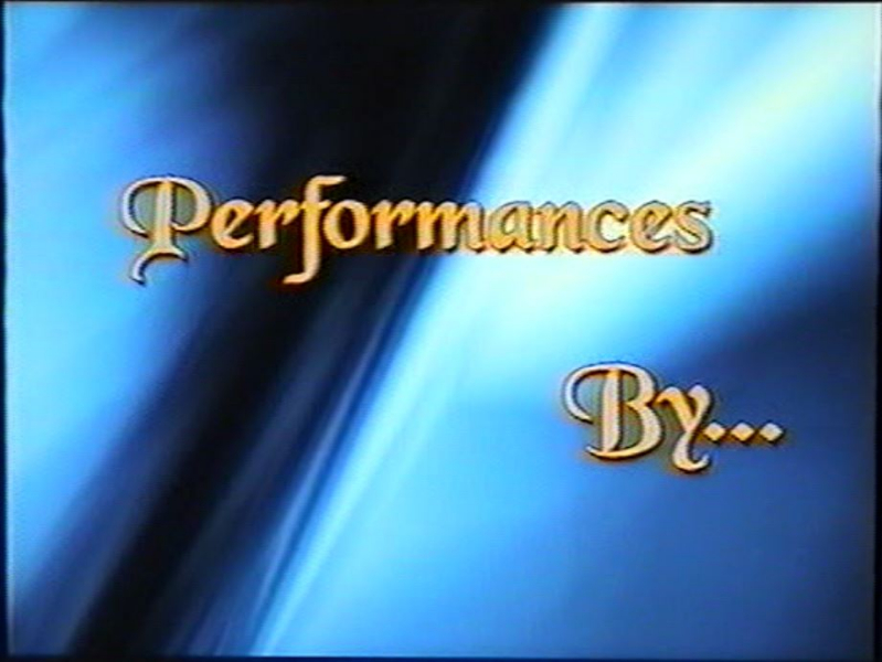 With Performances By
