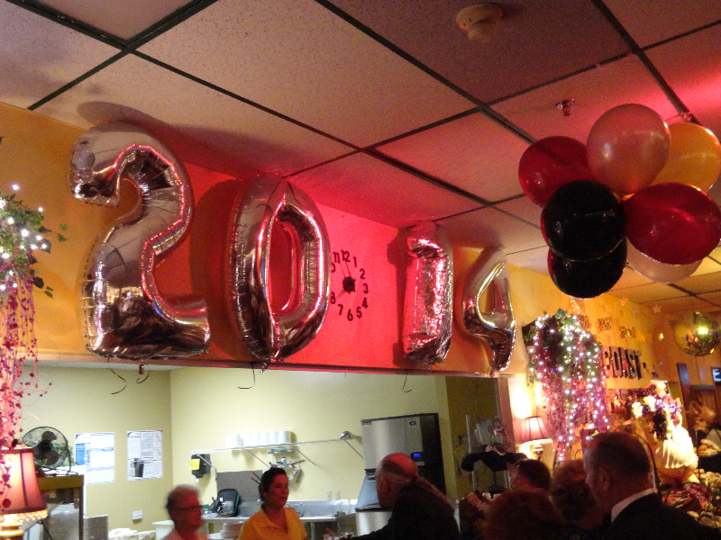 The Party\'s Only Beginning & Guests Already Lining Up at our Kitchen Window!
