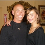 Karina Smirnoff (Dancing with the Stars) and Jeff Sandler, Co-Owner of Goldcoast Ballroom