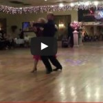 Jenny Paulisinecz (at Age 95!) Danced an impressive Tango at the Goldcoast Ballroom Showcase
