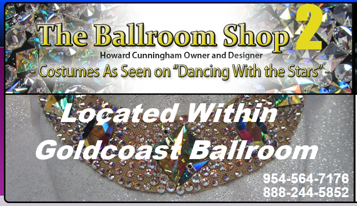 The Ballroom Shop 2 - Located Within Goldcoast Ballroom