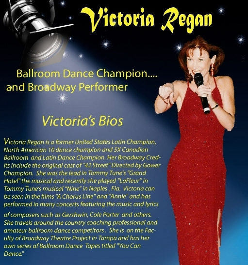Victoria Regan - Click for Further Bio Information