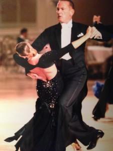 Bob Riebe with Olga Bogdanov