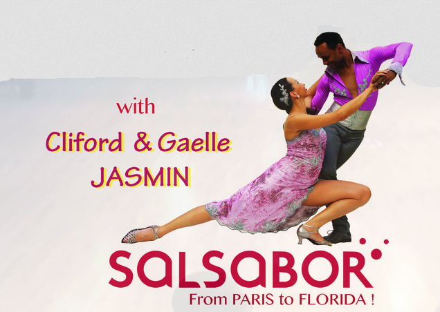 Gaelle & Clifford Jasmin - Salsa on 2 - Sundays at Goldcoast Ballroom