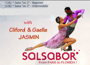 Gaelle & Cliford Jasmin - Salsa on 2 - Sunday Afternoon