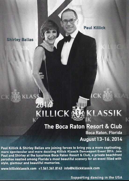 2014 Killick Klassik DanceSport Competition - Boca Raton, FL