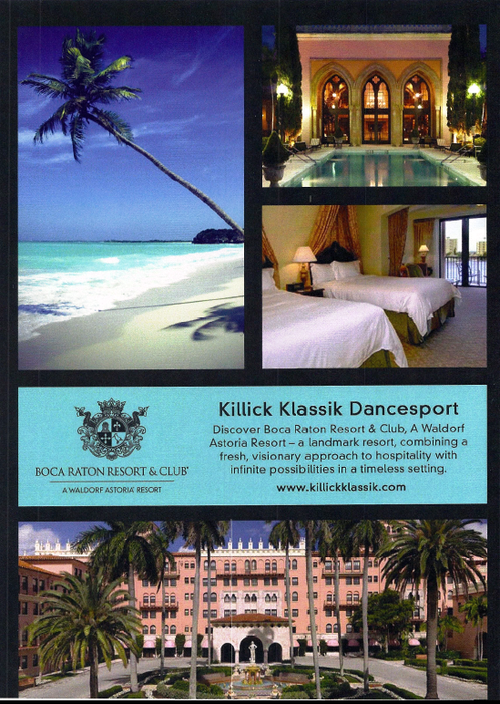 2014 Killick Klassik DanceSport - Boca Raton Resort & Club