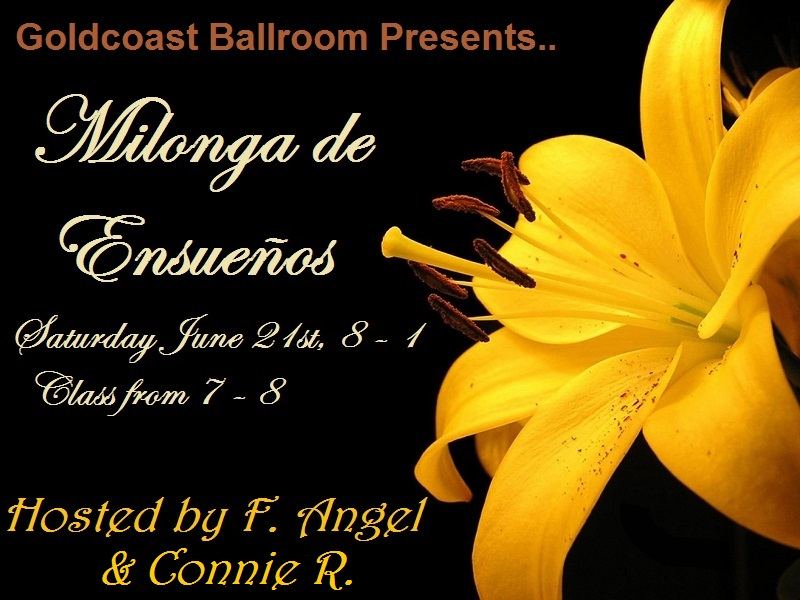 Milonga de Ensueños - June 21, 2014