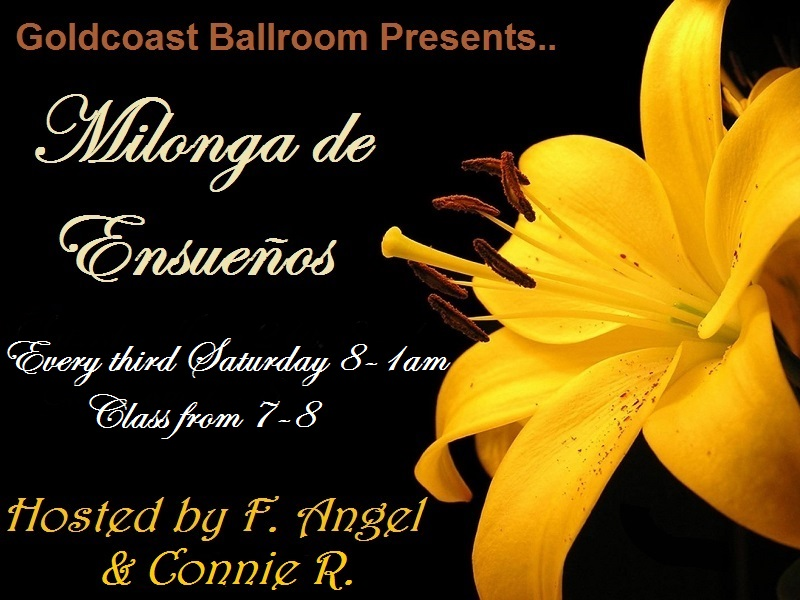 Milonga de Ensueños - Every Third Saturday of the Month