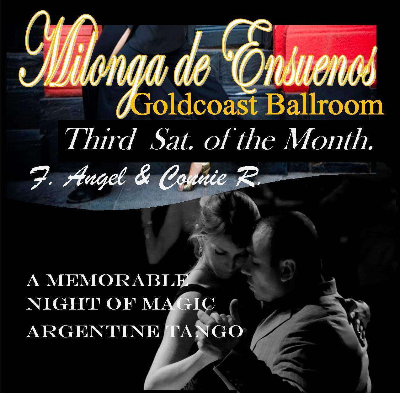 Milonga de Ensueños - Every Third Saturday of the Month - 9:00 PM - 2:00 AM
