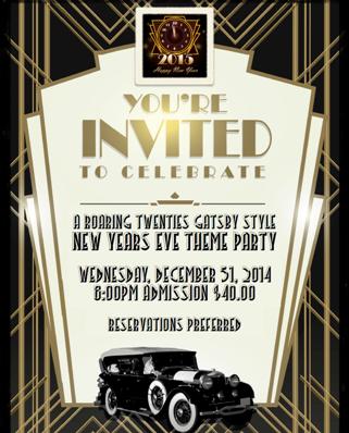2014 goldcoast ballroom new years eve gala roaring 20s theme party january