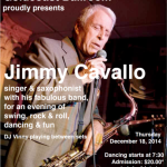 Jimmy Cavallo & His Band Live at Goldcoast Ballroom!! - December 18, 2014