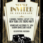 2014 Goldcoast Ballroom New Years Eve Gala - Roaring 20s Theme Party!!