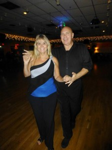 West Coast Swing Instructors Bruce & Beth Perrotta