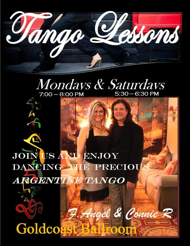 Argentine Tango Classes with F. Angel and Connie Ross - Saturdays Starting in April + Monday Nights
