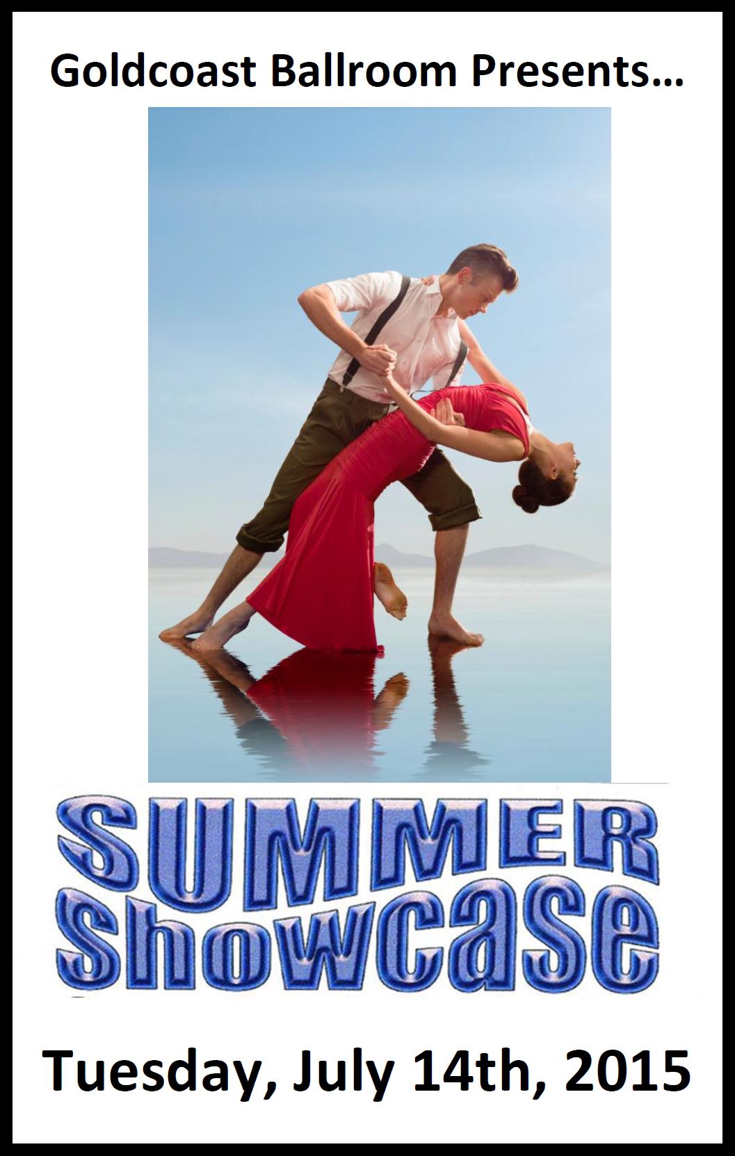 Goldcoast Ballroom Presents Summer Showcase - July 14, 2015