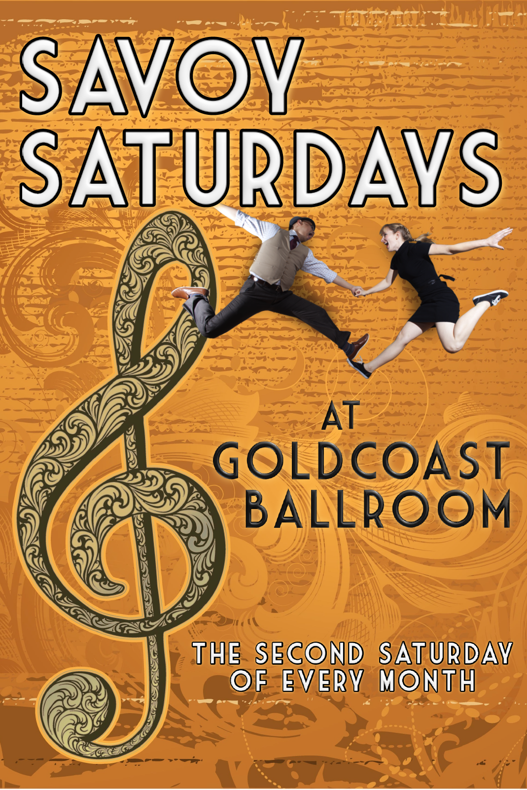 Savoy Saturdays - 2nd Saturday of Every Month at Goldcoast Ballroom