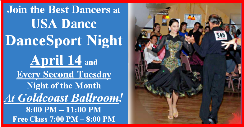 USA Dance DanceSport Night - Every Second Tuesday of the Month