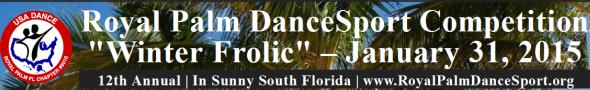 Royal Palm DanceSport Competition - January 31, 2015