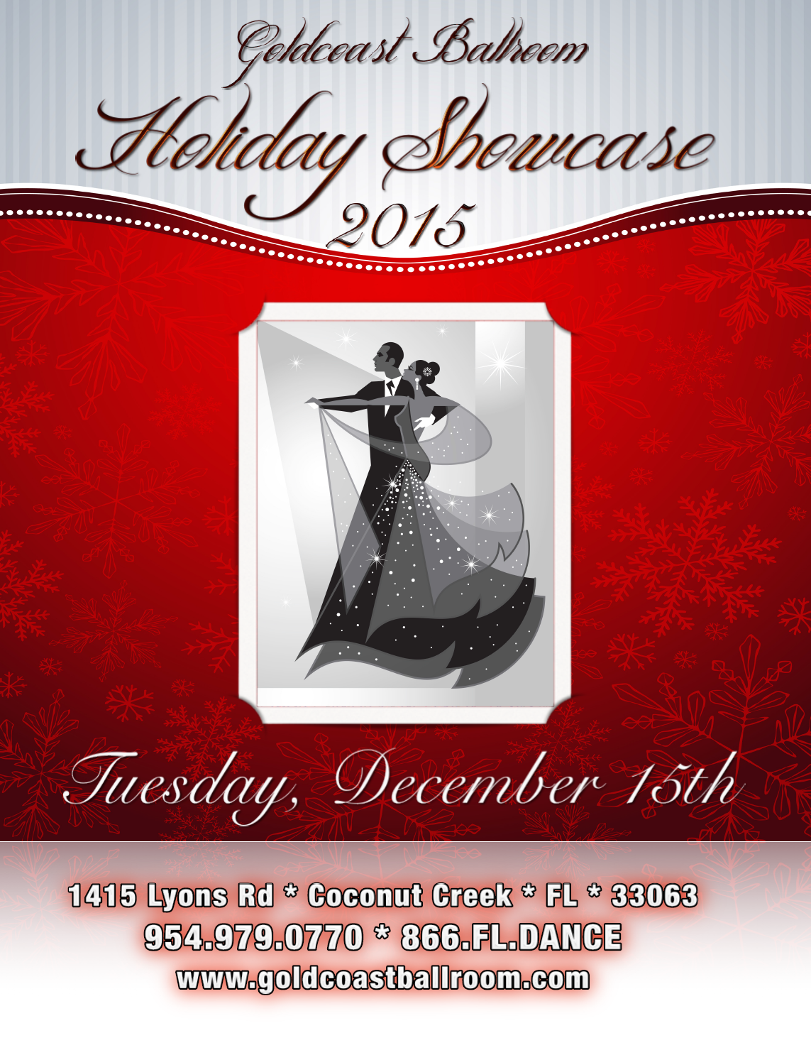 Click to view & print 2015 Holiday Showcase Flyer &  Entry Form