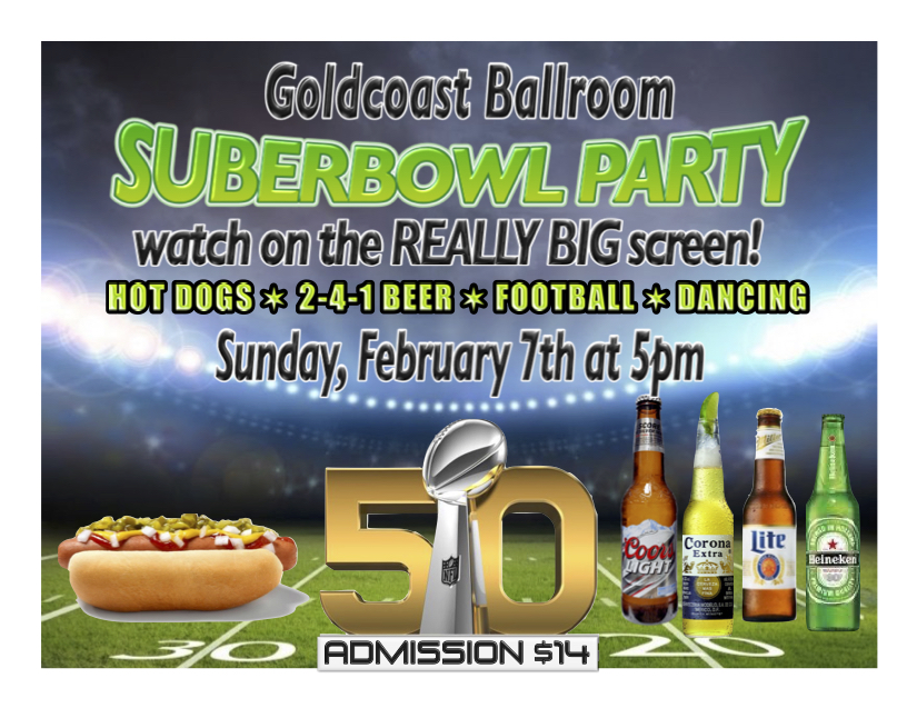 Superbowl 50 Party - February 7, 2016!