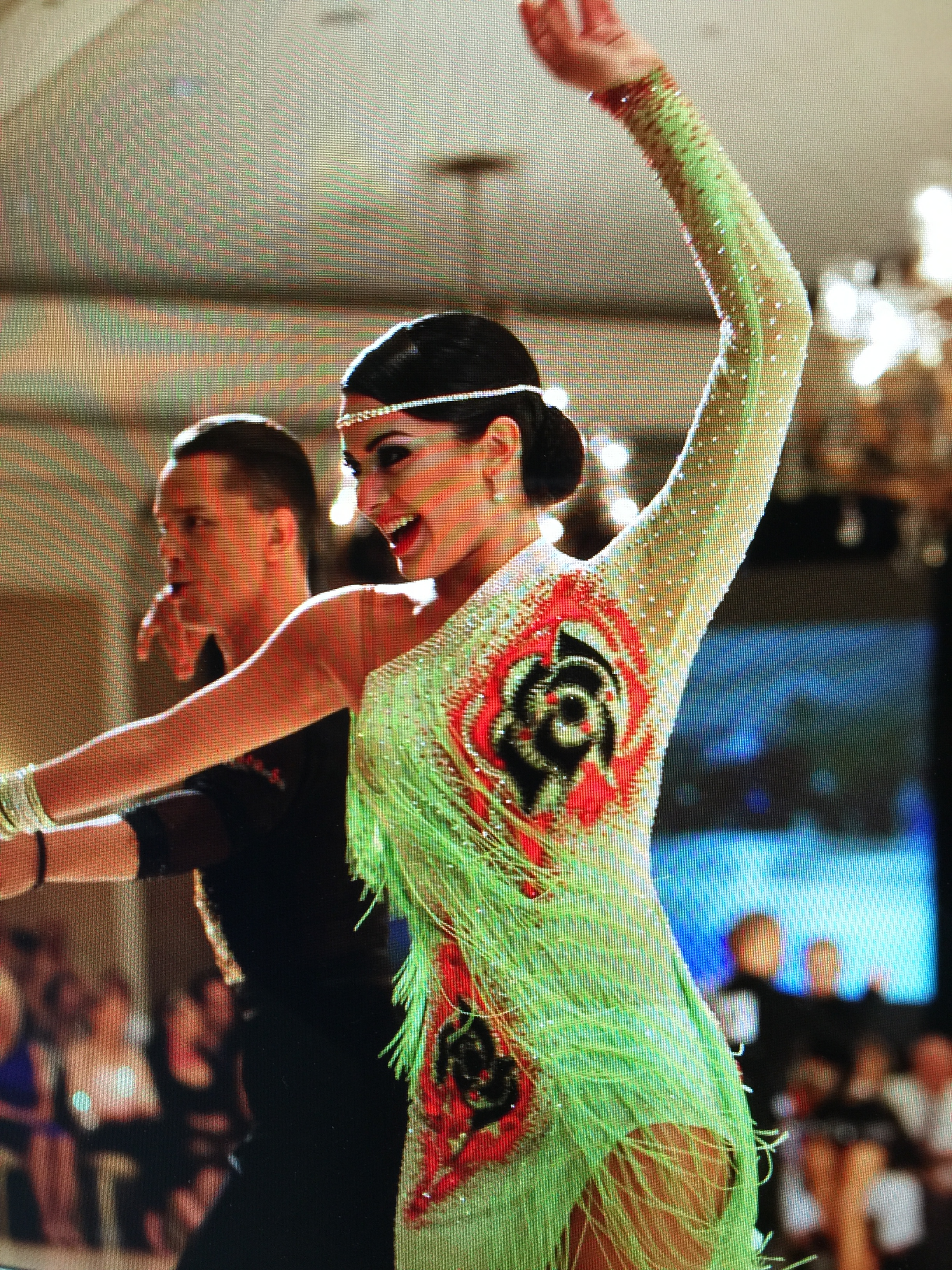Ashley Sanchez at South Eastern States DanceSport Championships