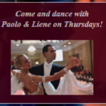 Come & Dance with Paolo & Liene Every Thursday Evening!