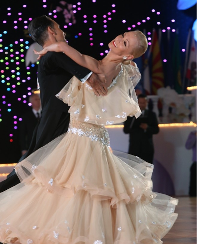 International Quickstep with Paolo and Liene Di Lorenzo – Intermediate/ Advanced – Every Thursday in May – Class at 8:00 PM – 9:00 PM; Practice Session 9:00 PM – 10:00 PM (included)