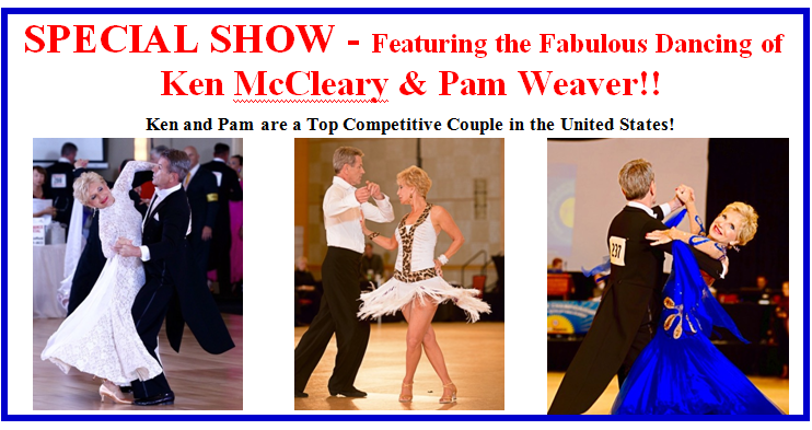 USA Dance Night - Special Dance Party & Show - Saturday, April 16, 2016 - Featuring Ken McCleary & Pam Weaver!