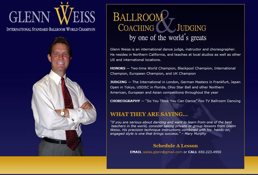 Glenn Weiss - Webpage: www.Glenn-Weiss.com
