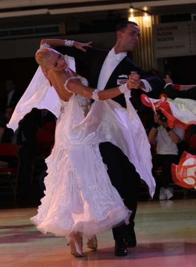 Skills, Drills & Conditioning for Ballroom Dancing (including Ballroom & Latin Rounds) with Liene & Paolo Di Lorenzo - Every Thursday in September - 7 - 8 PM September 1 and 8;  6:30 - 7:30 PM September 15, 22 and 29