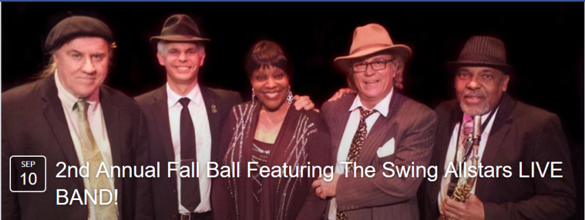 Savoy Saturdays - September 10, 2016 - Second Annual Fall Ball LIVE BAND!!