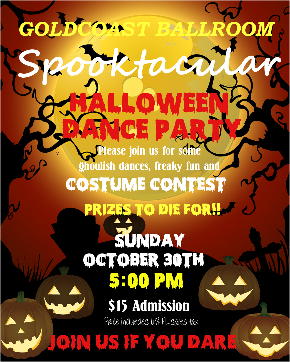 Halloween Party Costume Contest - October 30, 2016