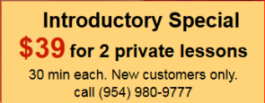 Introductory Special $39 For 2 Private Lessons (30 Minutes each) with Alex Or Tanya Koulik