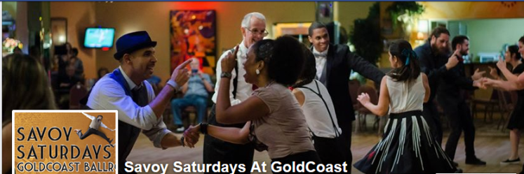 SAVOY SATURDAYS – LIVE BAND!! – October 8, 2016 – 7:30 PM Ballroom Dancing –  9:30 PM Savoy Lindy Hop with LIVE BAND!! – $16.00 (including Sales Tax)