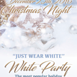 GOLDCOAST BALLROOM SPECTACULAR 19th ANNIVERSARY WEAR WHITE PARTY!! – Christmas Night, December 25, 2016 – 5:00 PM – 11:00 PM –  Only $5.00 (including Sales Tax)