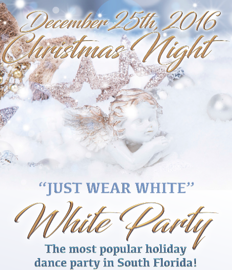 Goldcoast Ballroom White Party - December 25, 2016  - 5:00 PM - 11:00 PM