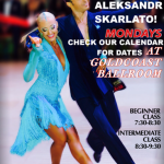 EXCITING!!  International Latin Classes – Every Monday in March – With International Latin Champion Aleksandr Skarlato!! – 7:30 PM Beginner – 8:30 PM Intermediate