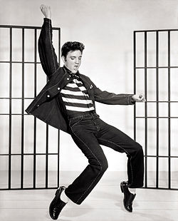 1950's Elvis Presley Jailhouse Rock - Photo courtesy of Wikipedia Commons