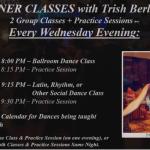 BEGINNER CLASSES WITH TRISH BERLANGA – EVERY WEDNESDAY EVENING!!