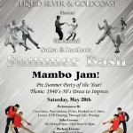 Exciting!!! – SALSA & BACHATA SUMMER BASH & MAMBO JAM!!! – EXCITING SHOW!!  – Saturday, May 20, 2017 – Doors Open 8:00 PM – Presented by Liquid Silver & Goldcoast Ballroom