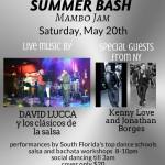 Exciting!!! – SALSA & BACHATA SUMMER BASH & MAMBO JAM!!! – LIVE BAND!! – EXCITING SHOW!!  – Saturday, May 20, 2017 – Doors Open 8:00 PM – Presented by Liquid Silver & Goldcoast Ballroom