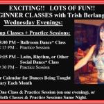 BEGINNER CLASSES WITH TRISH BERLANGA!! – WEDNESDAY EVENINGS