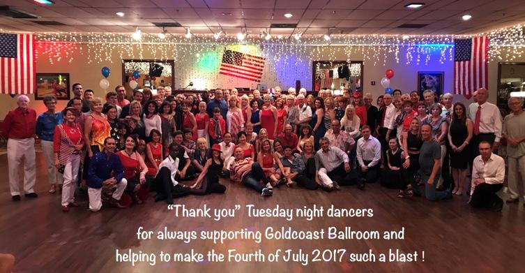 Don't Miss Tuesday Nights at Goldcoast Ballroom!!