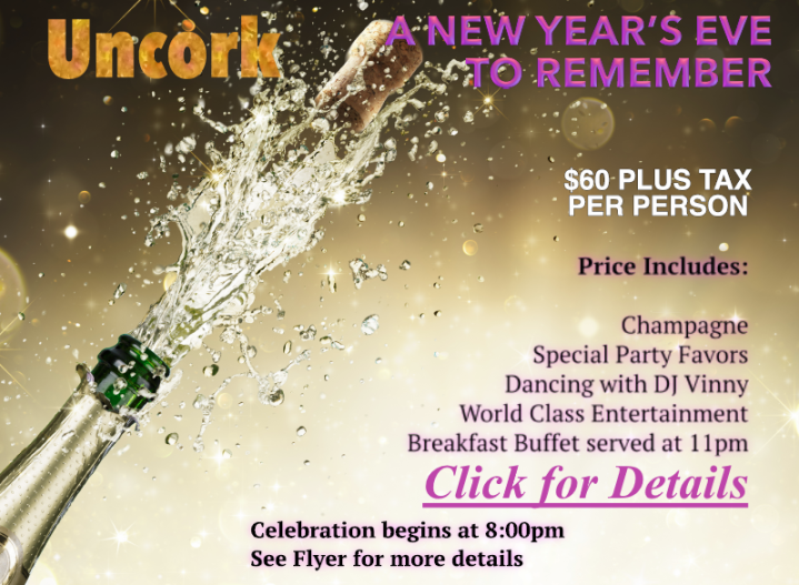 SPECTACULAR NEW YEAR'S EVE GALA!! – DECEMBER 31, 2017 – with Breakfast Buffet!! – Reserve NOW, While Tickets Last!! – 954-979-0770