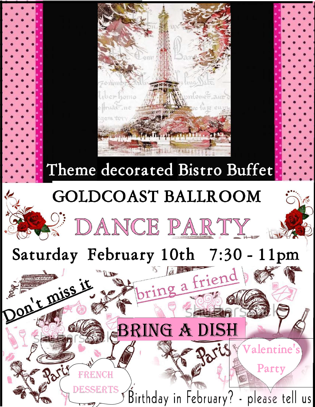 February 10, 2018 Valentine's Day Party!