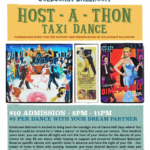 SPECIAL HOST-A-THON DANCE PARTY & FUNDRAISER!! – Monday, April 16, 2018 – Top Pros Donating Their Time as Dance Hosts to Help Preserve & Support Goldcoast Ballroom!! – $10.00* + $5.00 per dance to Dance with the Dance Hosts of your Choice – Including Top Pros!