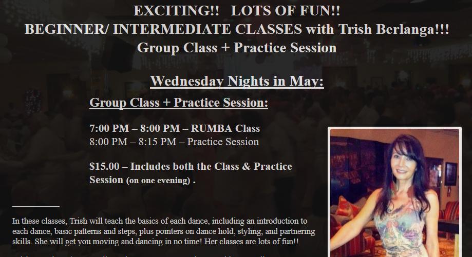 Trish Berlanga - Wednesday Nights in May