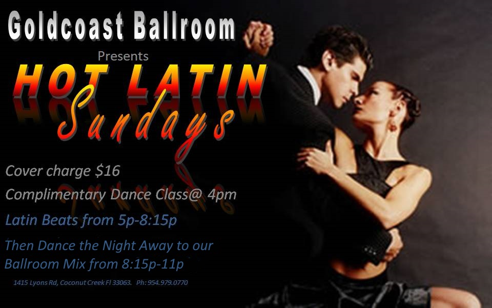 Sunday Evening at Goldcoast Ballroom