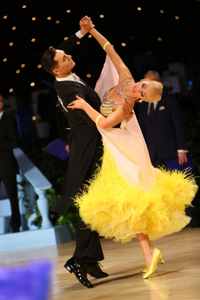 Alexander & Veronika Voskalchuk - WDC U.S. Open Professional Ballroom Champions
